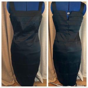 Cache | Black Sheath Dress  Size 6